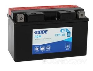Мотоциклетный аккумулятор Exide AGM ET7B-BS (7 А/ч)