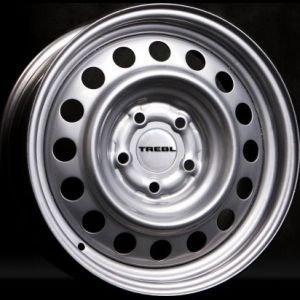 Диск колесный TREBL 6.0X15 5/112 ET45 D57.1 64I45D BLACK