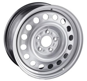 Диск колесный TREBL 6.5X16 4/100 ET49 D60.1 X40050 SILVER